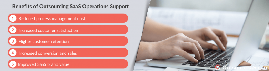 benefits of saas technical support outsourcing