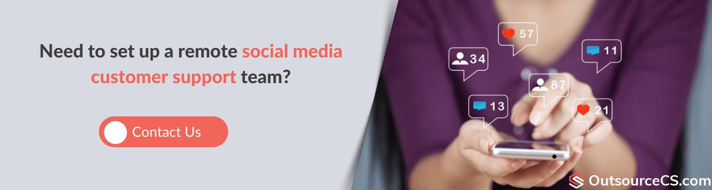 build social media customer support team in ukraine