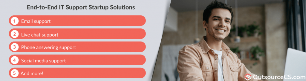 it support startup solutions