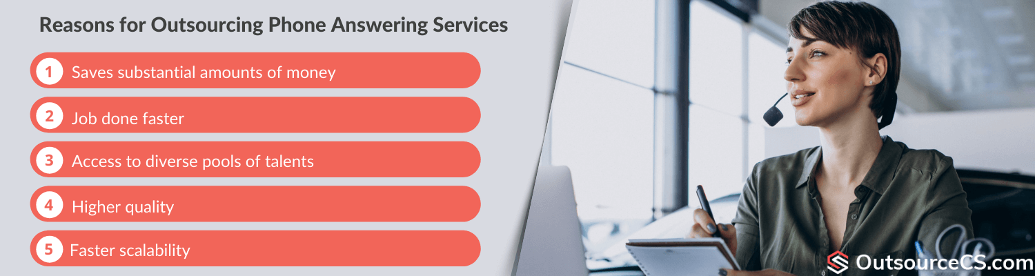 reasons for phone support outsourcing