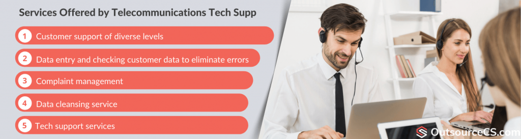 telecom outsourcing customer support services